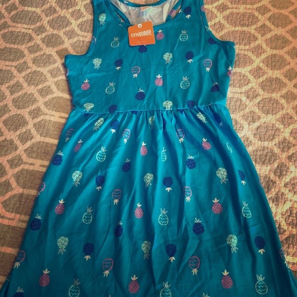 Children's Place Other - Blue Pineapple Dress L 10/12